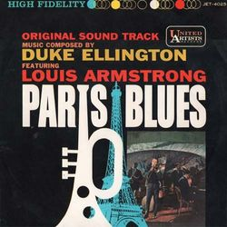 Paris Blues Soundtrack LP