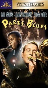 Paris Blues VHS