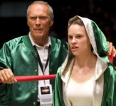 Hilary Swank and Clint Eastwood