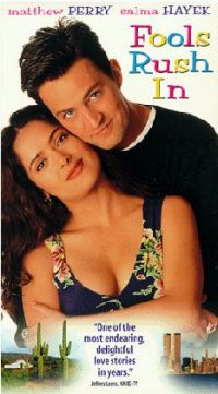 Matthew Perry and Salma Hayek in Fools Rush In