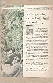 Green Mansions Movie Ad