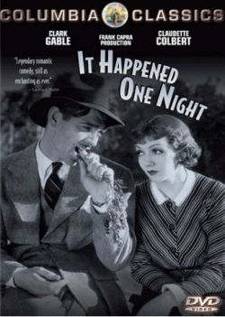 Clark Gable and Claudette Colbert on It Happened One Night