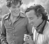 Pierre and Louis Malle in Lacombe Lucien