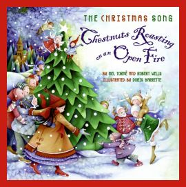 The Christmas Song - Chestnuts Roasting on an Open Fire written by Mel Tormé and Bob Wells - Book