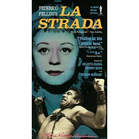 La Strada by Anthony Quinn