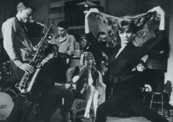 Gerry Mulligan and Janice Rule in The Subterraneans